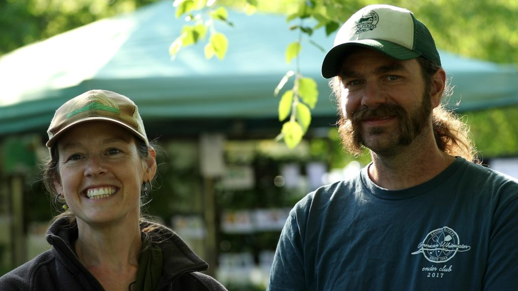 Sara and Dustin the Sustainabillies
