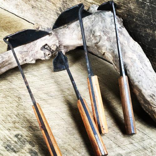 handcrafted garden tools